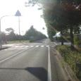 久保泉工業団地の道