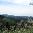山とススキ