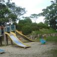 蓮池公園の滑り台
