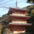 清水三重塔(福岡県みやま市瀬高町)
