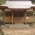 白山神社(佐賀県佐賀市富士町関屋)